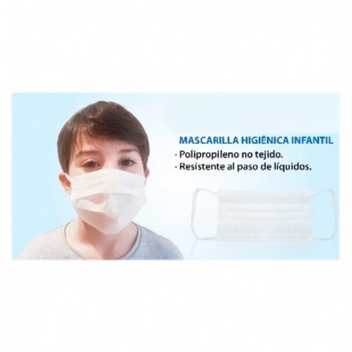Mascarilla quirurgica ti infantil 3c 10uds