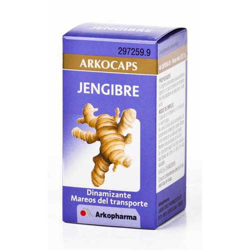JENGIBRE ARKOCAPS (365 MG 48 CAPS)