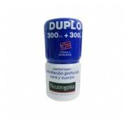 Neutrogena comfort balm hidratacion profunda - cara y cuerpo (2 envases 300 ml)