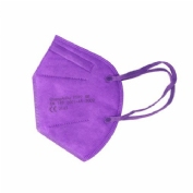 Mascarilla ffp2 lila