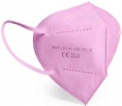Mascarilla ffp2 rosa fucsia