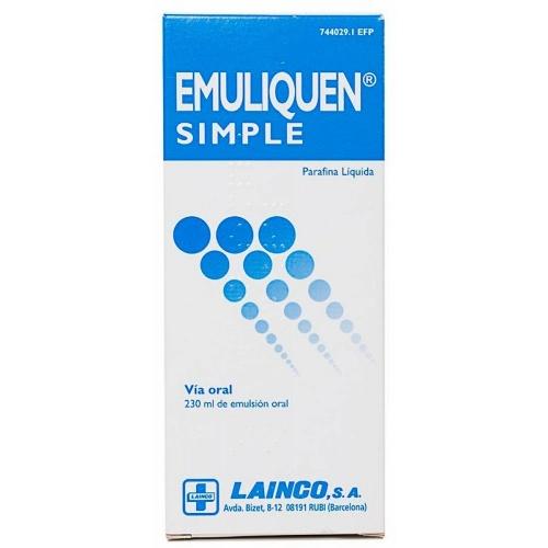 EMULIQUEN SIMPLE 478,26 mg/ml EMULSION ORAL , 1 frasco de 230 ml