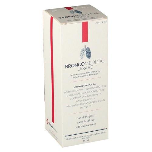 BRONCOMEDICAL JARABE , 1 frasco de 180 ml