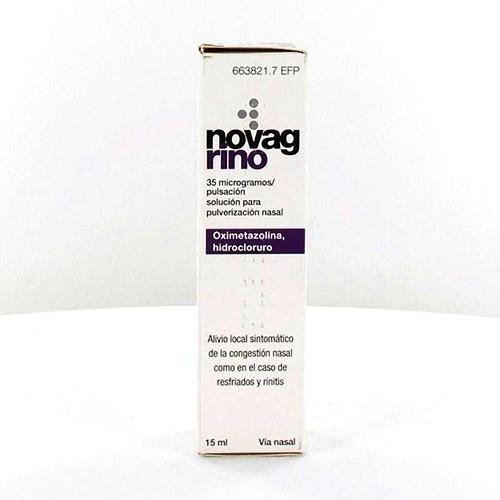 NOVAG RINO 35 microgramos/PULSACION SOLUCION PARA PULVERIZACION NASAL , 1 frasco de 15 ml