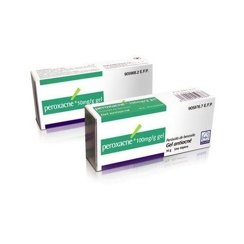 PEROXACNE 50 mg/g GEL, 1 tubo de 30 g