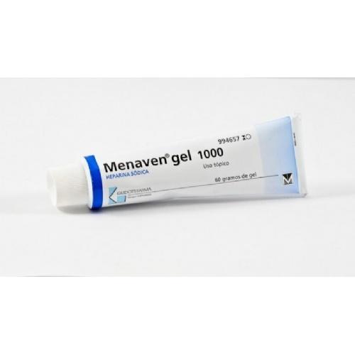 MENAVEN 1000 UI/G GEL , 1 tubo de 60 g