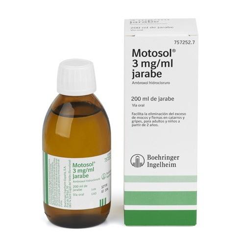 MOTOSOL 3mg/ml JARABE , 1 frasco de 200 ml