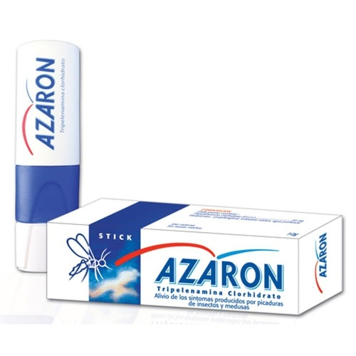 AZARON STICK 20 MG/G BARRA CUTÁNEA , 1 aplicador con 5,75 g